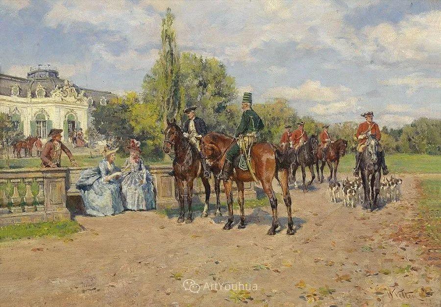 俄罗斯艺术家Wilhelm Velten(1847-1929)插图35