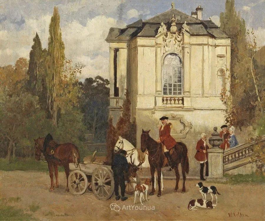 俄罗斯艺术家Wilhelm Velten(1847-1929)插图37