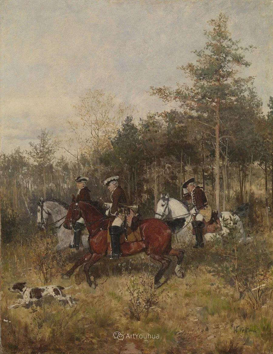 俄罗斯艺术家Wilhelm Velten(1847-1929)插图39