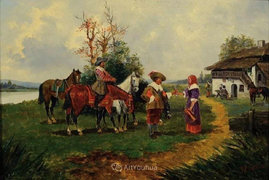 俄罗斯艺术家Wilhelm Velten(1847-1929)插图41