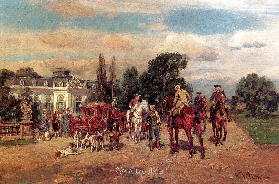 俄罗斯艺术家Wilhelm Velten(1847-1929)插图45
