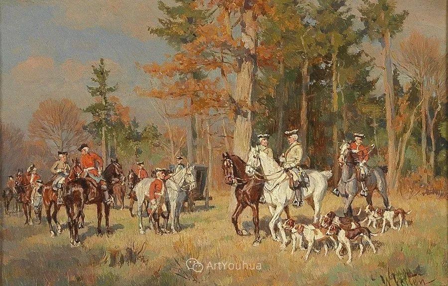 俄罗斯艺术家Wilhelm Velten(1847-1929)插图47