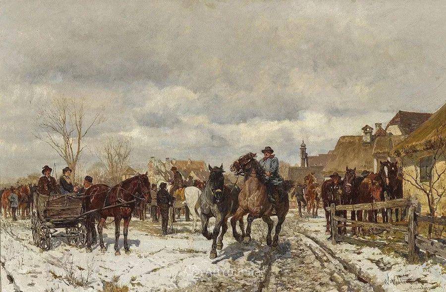 俄罗斯艺术家Wilhelm Velten(1847-1929)插图51