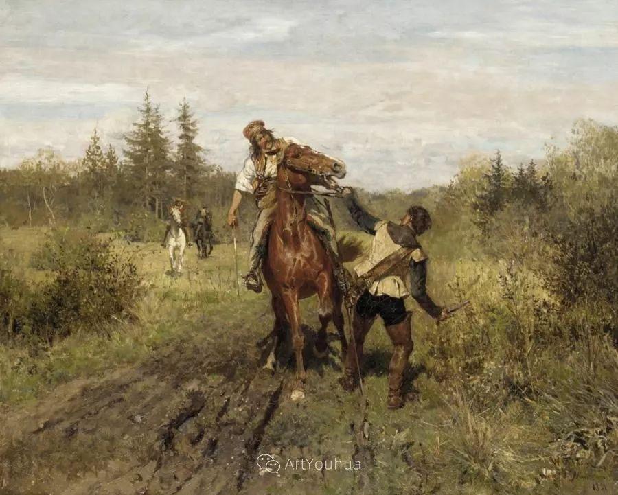俄罗斯艺术家Wilhelm Velten(1847-1929)插图55