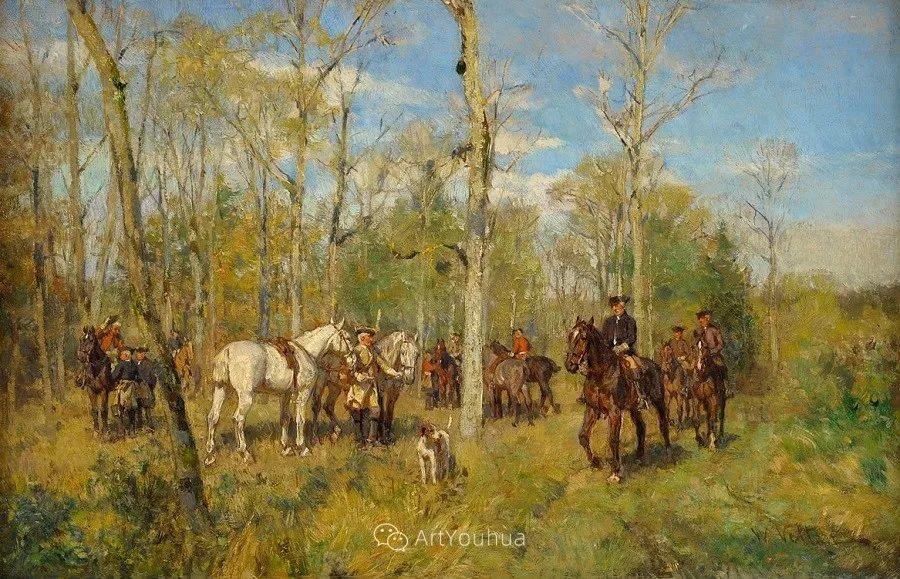 俄罗斯艺术家Wilhelm Velten(1847-1929)插图65