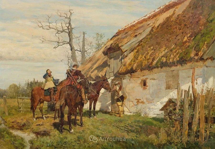 俄罗斯艺术家Wilhelm Velten(1847-1929)插图73