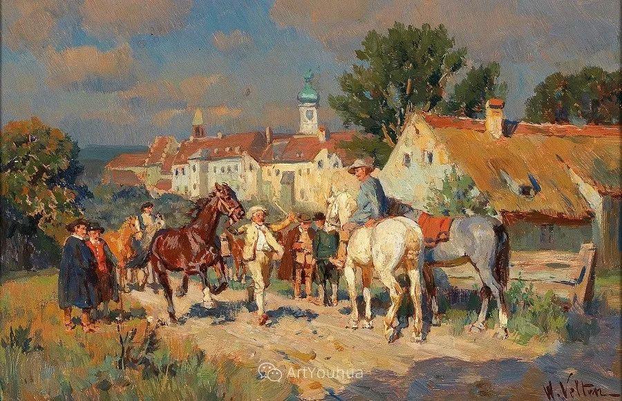俄罗斯艺术家Wilhelm Velten(1847-1929)插图77