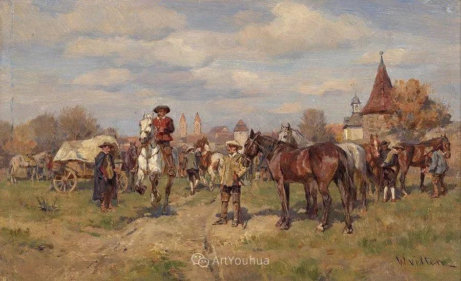 俄罗斯艺术家Wilhelm Velten(1847-1929)插图81