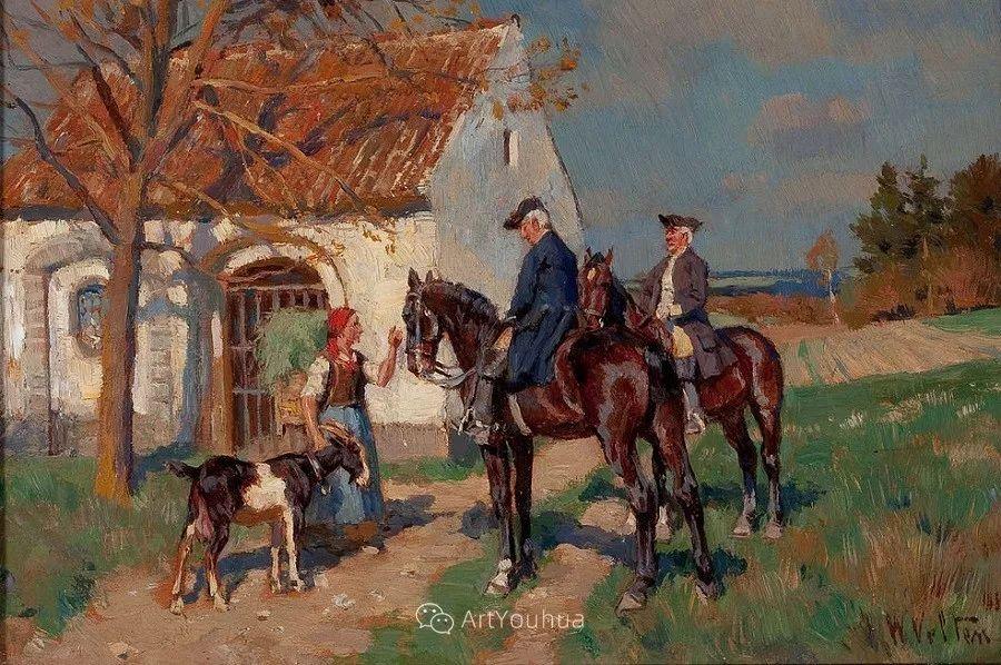 俄罗斯艺术家Wilhelm Velten(1847-1929)插图83