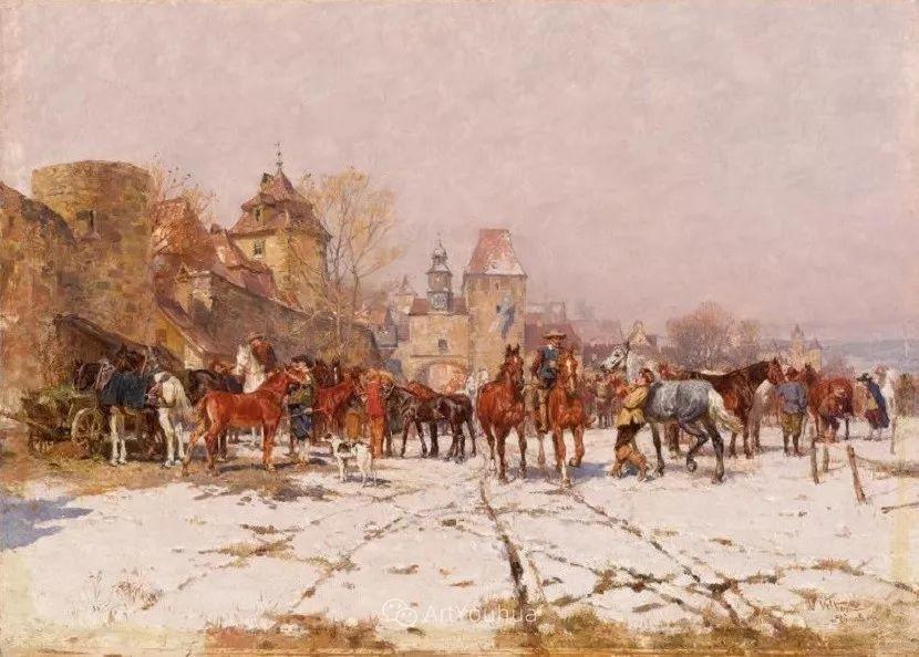 俄罗斯艺术家Wilhelm Velten(1847-1929)插图85