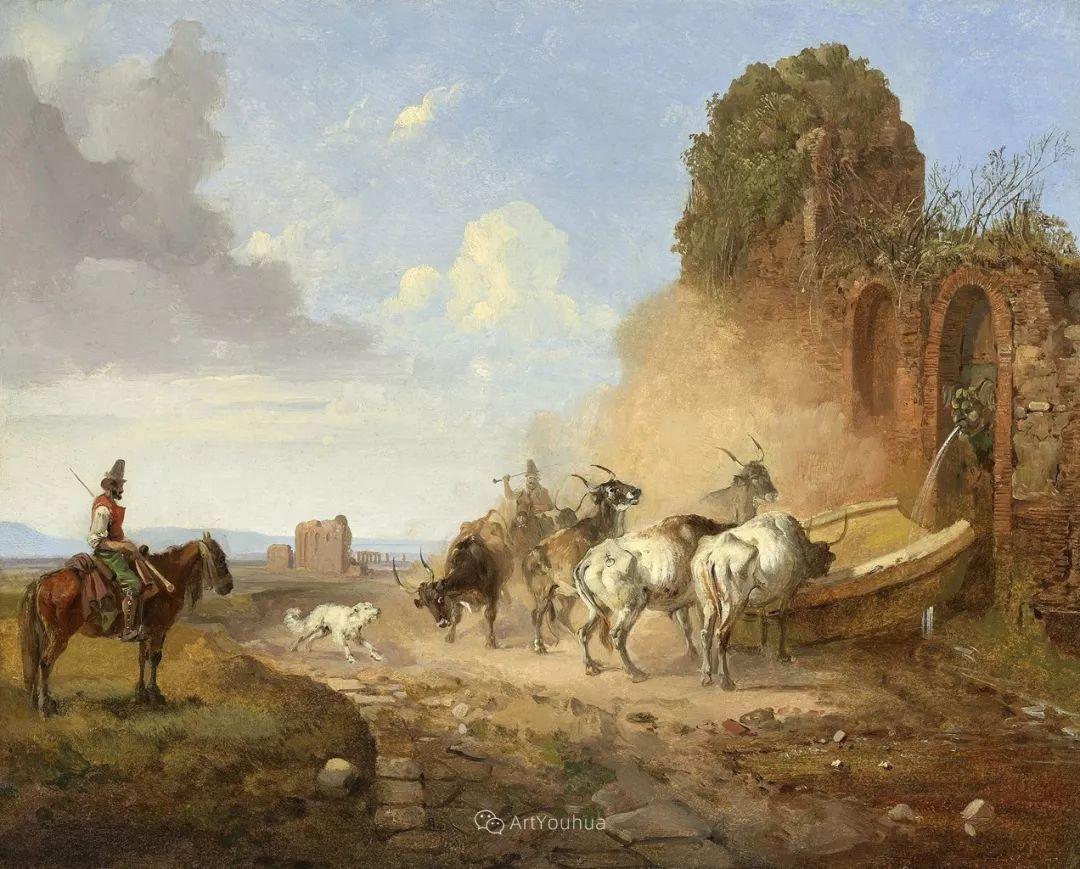 德国艺术家Heinrich Bürkel(1802-1869)插图25