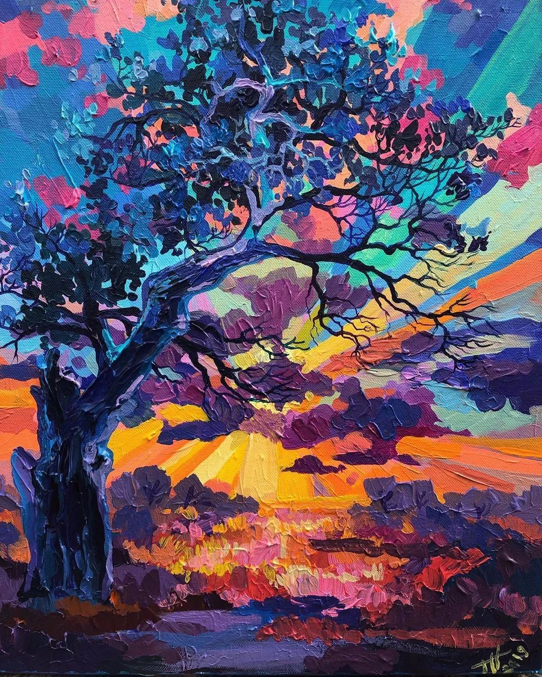 厚重的浪漫色彩,蕴藏着一种令人激越的魅力,美到让人移不开眼!插图9