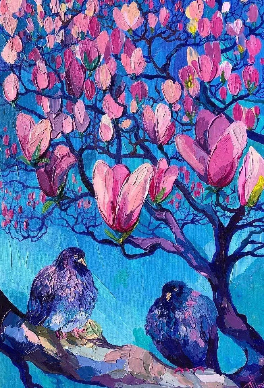 厚重的浪漫色彩,蕴藏着一种令人激越的魅力,美到让人移不开眼!插图91