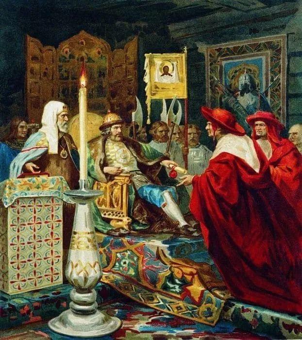 古代的场景画,波兰艺术家亨利克·西米拉兹基插图22