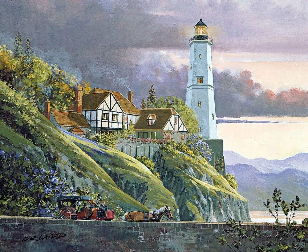 海景画,苏格兰画家道格拉斯·莱尔德插图9