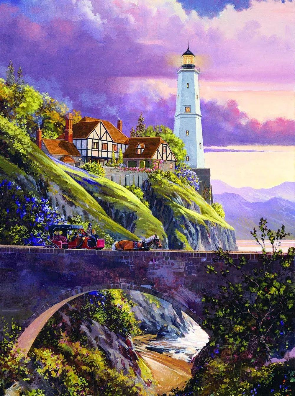 海景画,苏格兰画家道格拉斯·莱尔德插图11