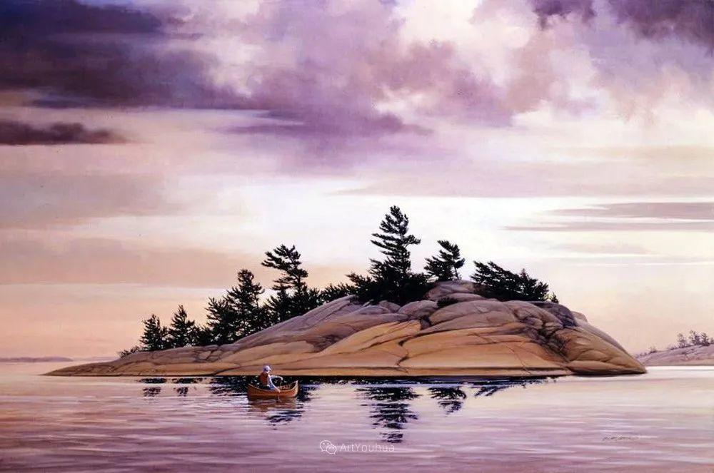 海景画,苏格兰画家道格拉斯·莱尔德插图15