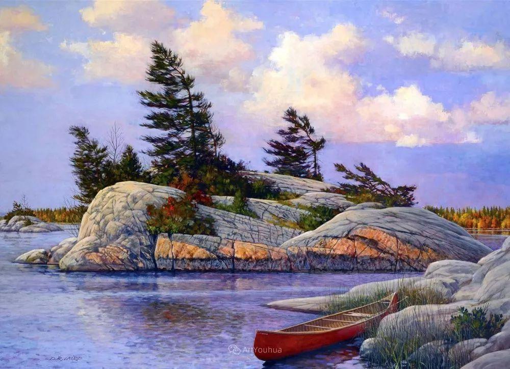 海景画,苏格兰画家道格拉斯·莱尔德插图17