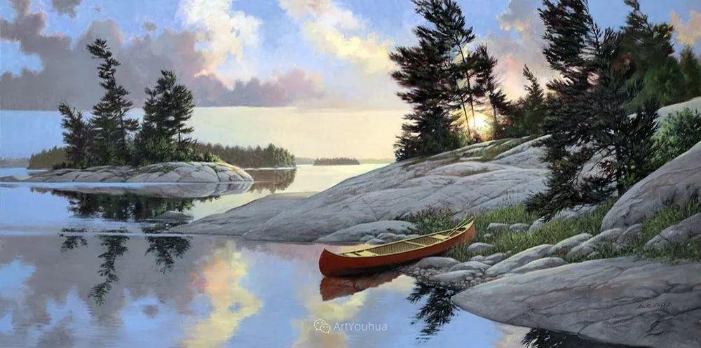 海景画,苏格兰画家道格拉斯·莱尔德插图19