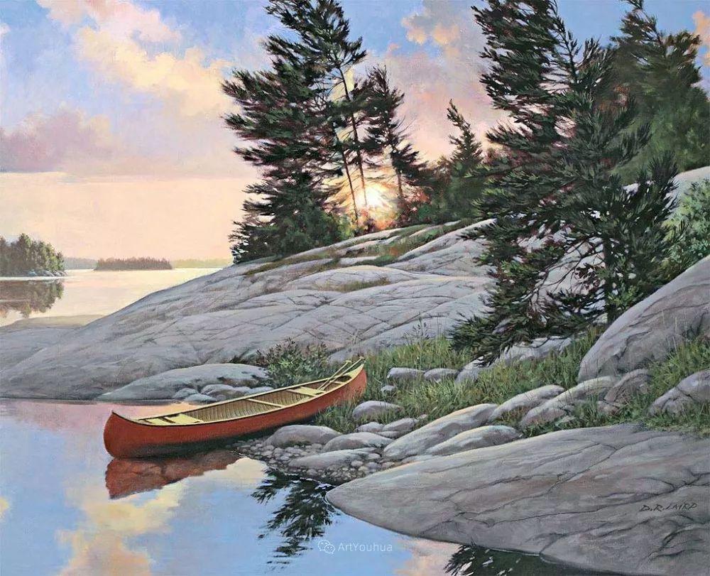 海景画,苏格兰画家道格拉斯·莱尔德插图21