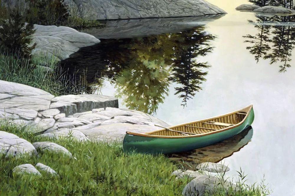 海景画,苏格兰画家道格拉斯·莱尔德插图23