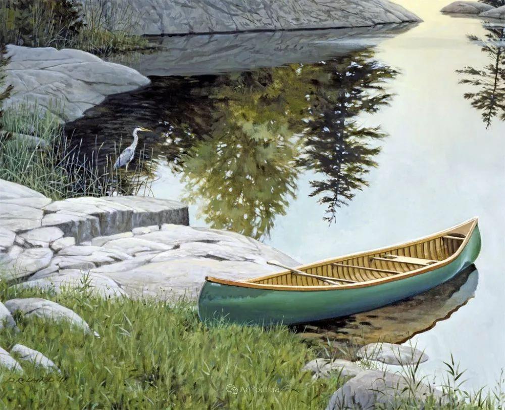 海景画,苏格兰画家道格拉斯·莱尔德插图25
