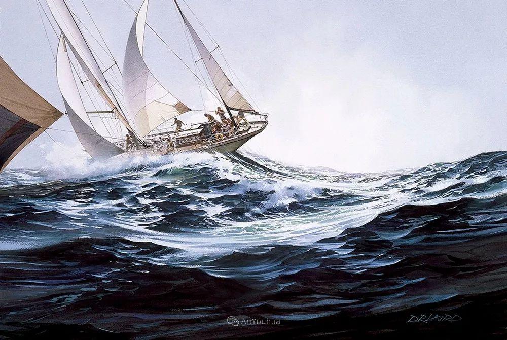 海景画,苏格兰画家道格拉斯·莱尔德插图29