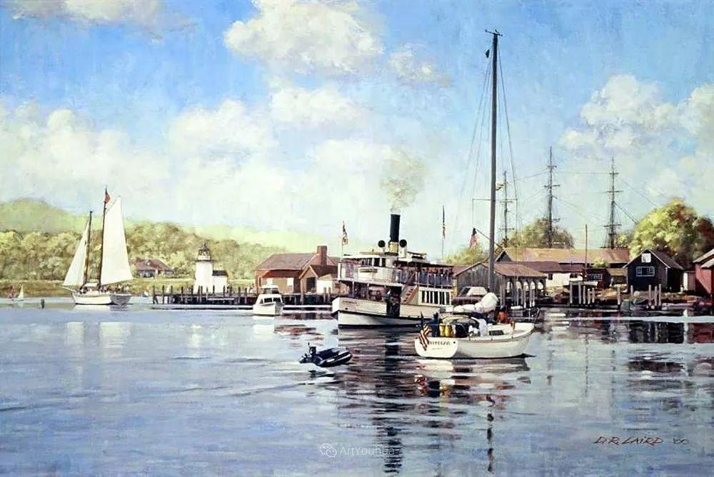 海景画,苏格兰画家道格拉斯·莱尔德插图33