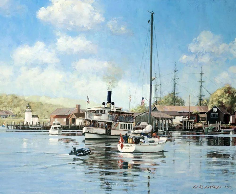 海景画,苏格兰画家道格拉斯·莱尔德插图35
