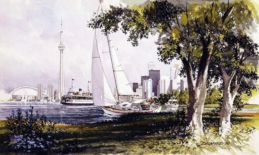 海景画,苏格兰画家道格拉斯·莱尔德插图39