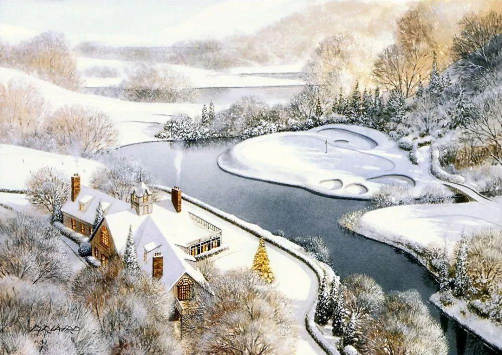 海景画,苏格兰画家道格拉斯·莱尔德插图43