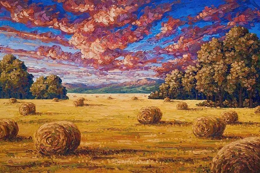 令人沉醉,唯美壮丽印象派风景油画,加拿大画家Joe Reimer插图1