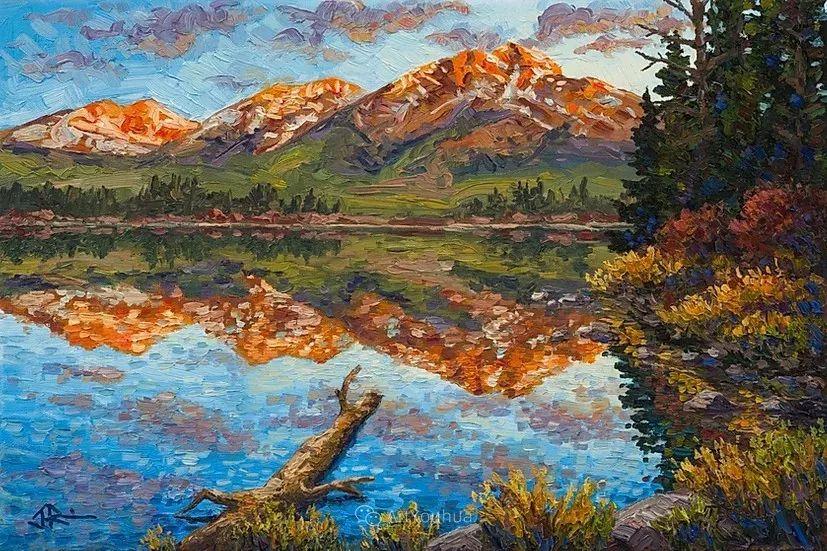 令人沉醉,唯美壮丽印象派风景油画,加拿大画家Joe Reimer插图7