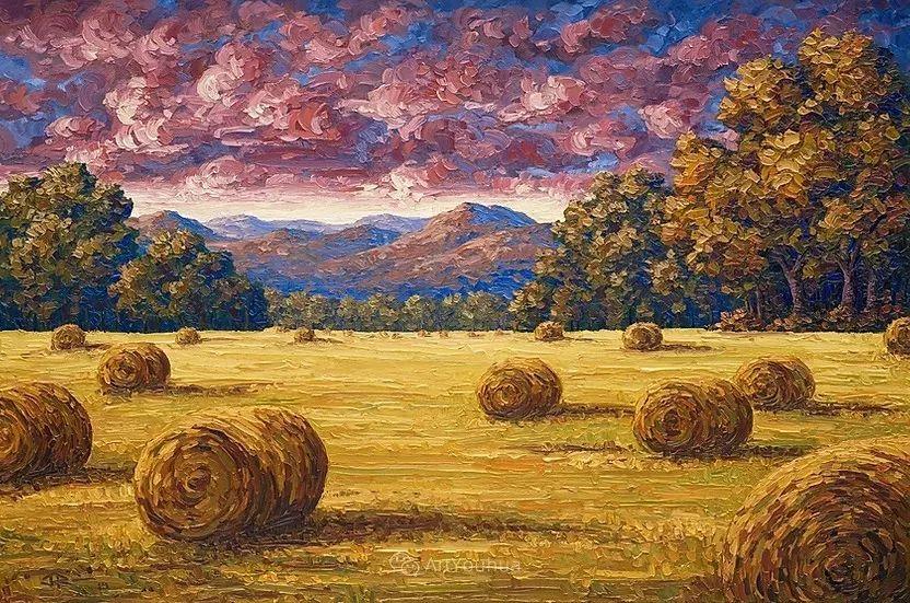 令人沉醉,唯美壮丽印象派风景油画,加拿大画家Joe Reimer插图4