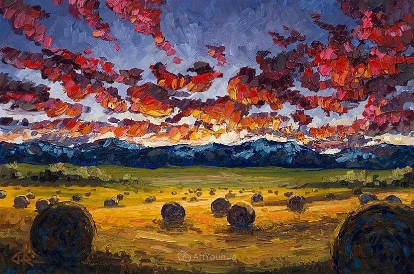 令人沉醉,唯美壮丽印象派风景油画,加拿大画家Joe Reimer插图11
