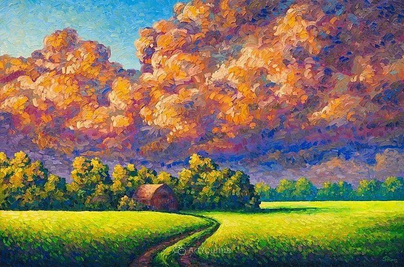 令人沉醉,唯美壮丽印象派风景油画,加拿大画家Joe Reimer插图15