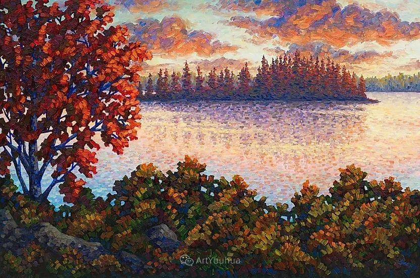 令人沉醉,唯美壮丽印象派风景油画,加拿大画家Joe Reimer插图8