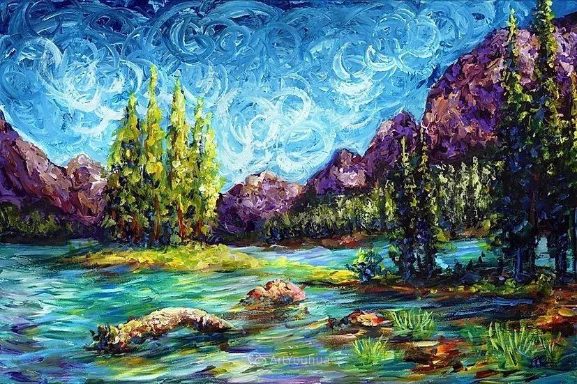 令人沉醉,唯美壮丽印象派风景油画,加拿大画家Joe Reimer插图9