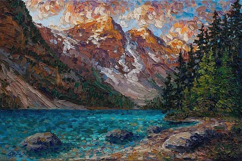 令人沉醉,唯美壮丽印象派风景油画,加拿大画家Joe Reimer插图13