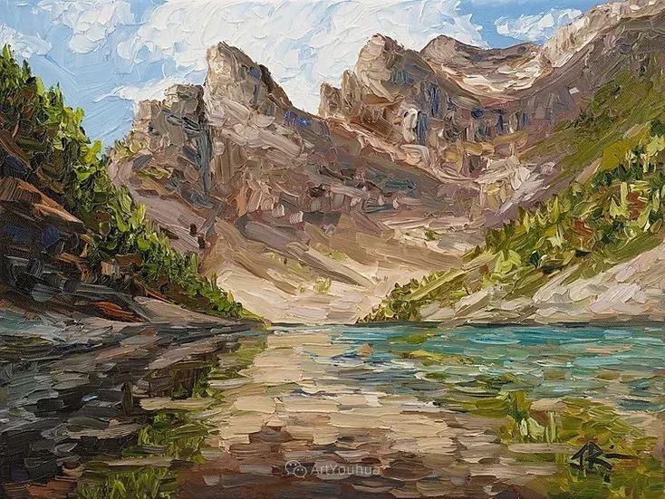 令人沉醉,唯美壮丽印象派风景油画,加拿大画家Joe Reimer插图14