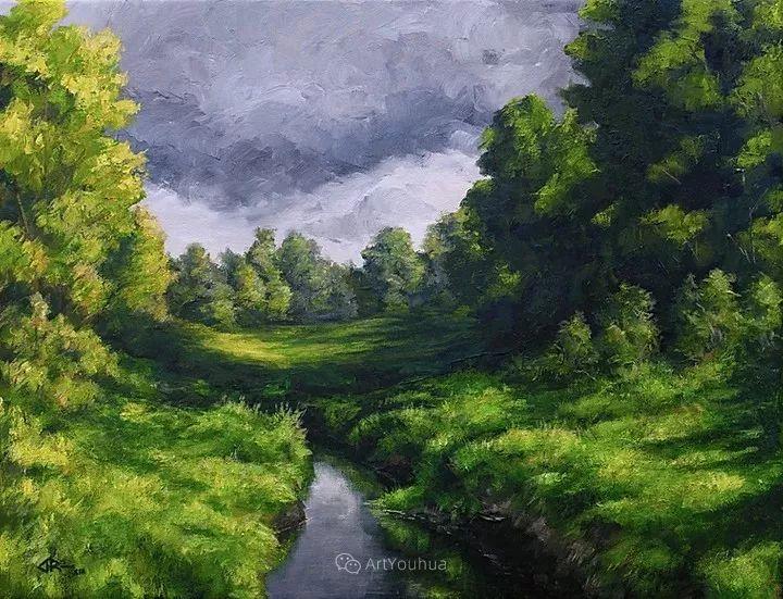 令人沉醉,唯美壮丽印象派风景油画,加拿大画家Joe Reimer插图31