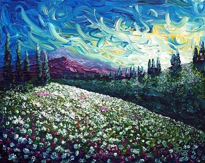 令人沉醉,唯美壮丽印象派风景油画,加拿大画家Joe Reimer插图33