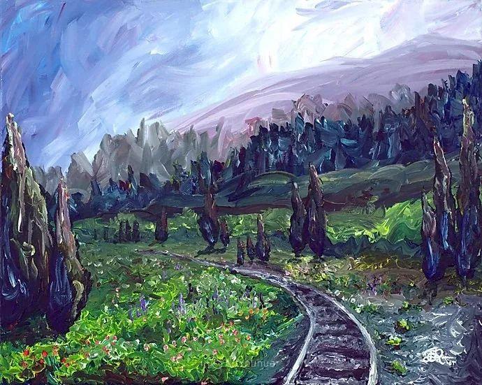 令人沉醉,唯美壮丽印象派风景油画,加拿大画家Joe Reimer插图17