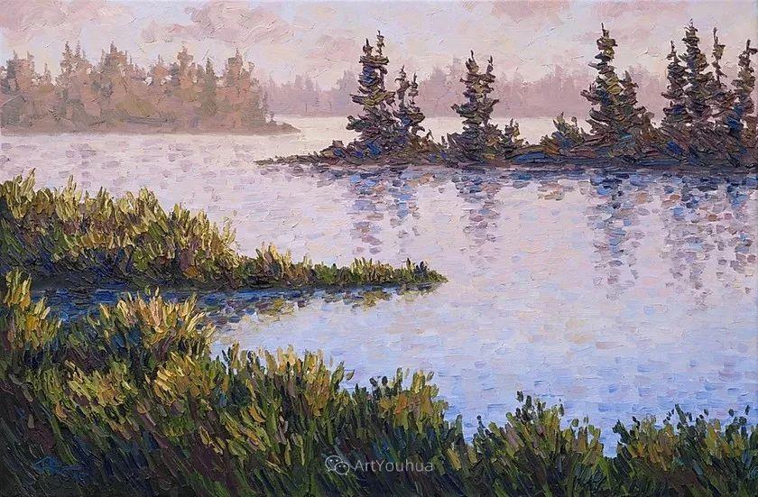令人沉醉,唯美壮丽印象派风景油画,加拿大画家Joe Reimer插图19