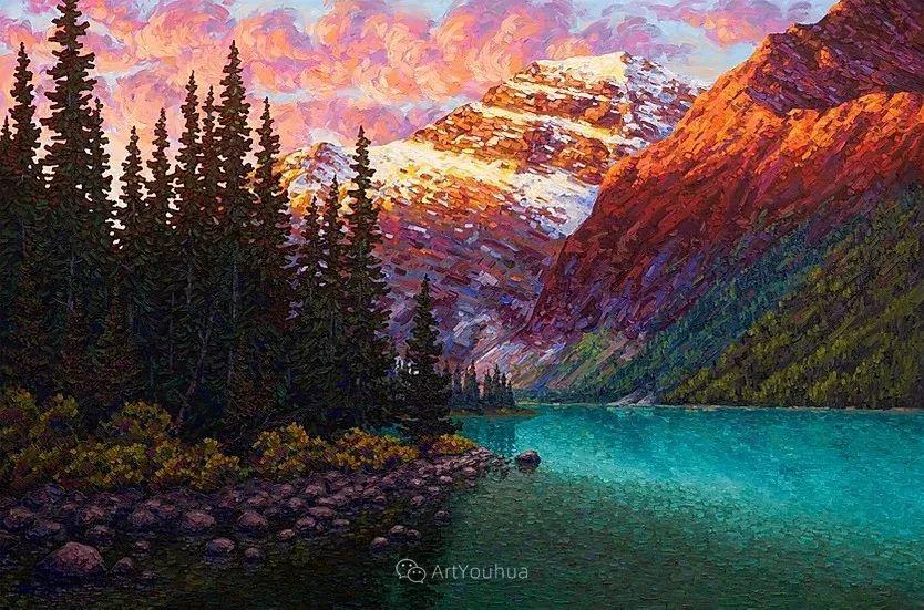 令人沉醉,唯美壮丽印象派风景油画,加拿大画家Joe Reimer插图41