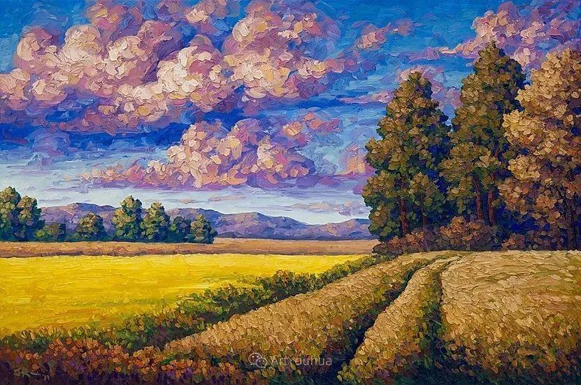 令人沉醉,唯美壮丽印象派风景油画,加拿大画家Joe Reimer插图22