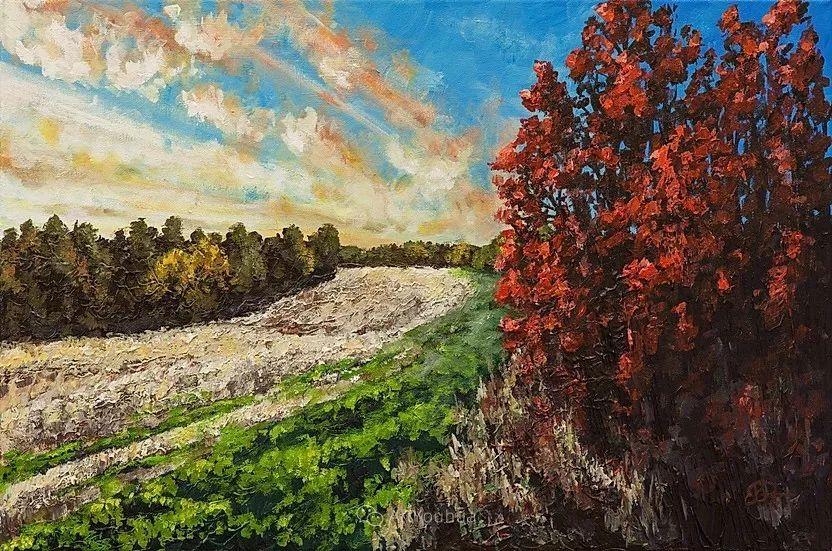 令人沉醉,唯美壮丽印象派风景油画,加拿大画家Joe Reimer插图24