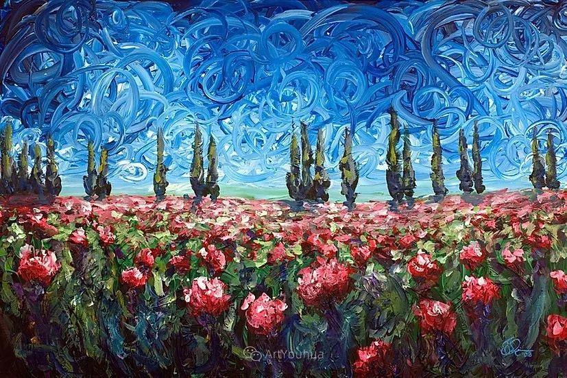 令人沉醉,唯美壮丽印象派风景油画,加拿大画家Joe Reimer插图25