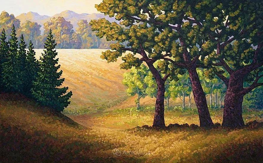 令人沉醉,唯美壮丽印象派风景油画,加拿大画家Joe Reimer插图53