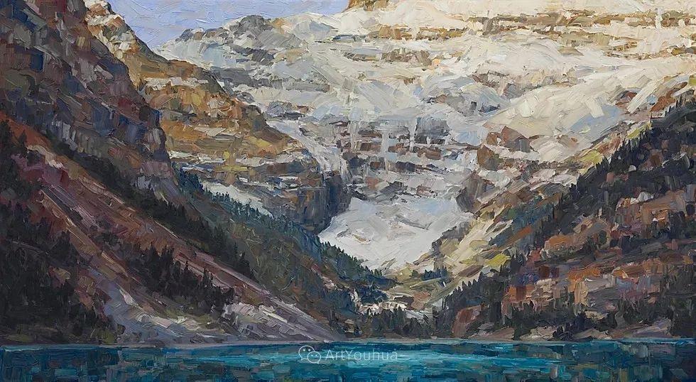 令人沉醉,唯美壮丽印象派风景油画,加拿大画家Joe Reimer插图55